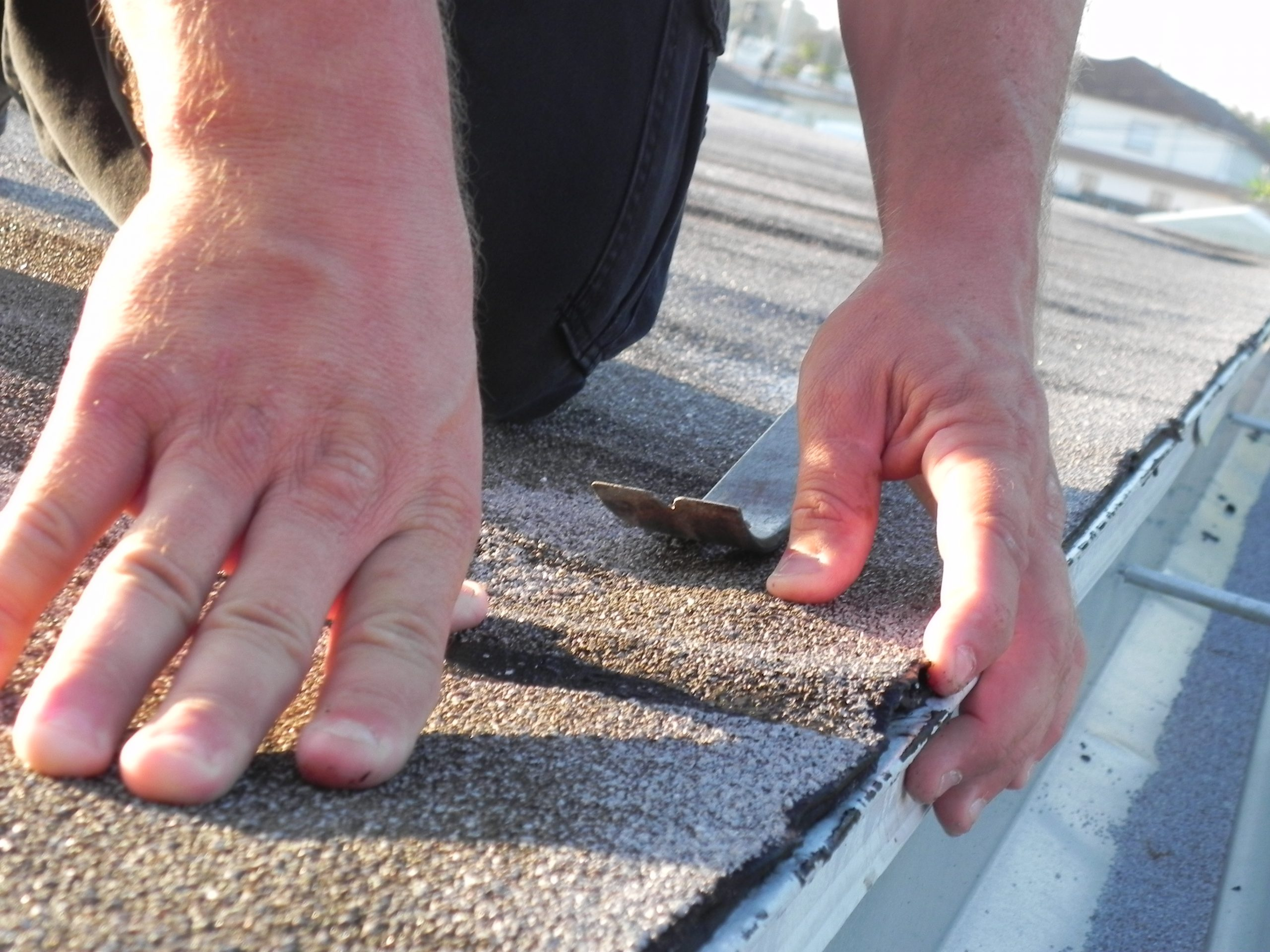 Prioritizing roof repair among home improvement projects